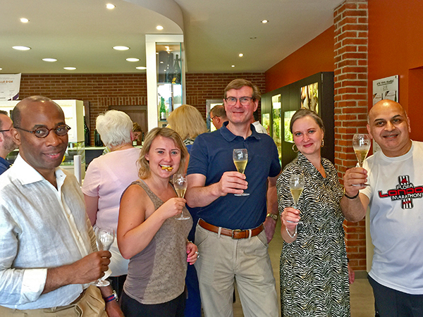 Champagne Tour Group