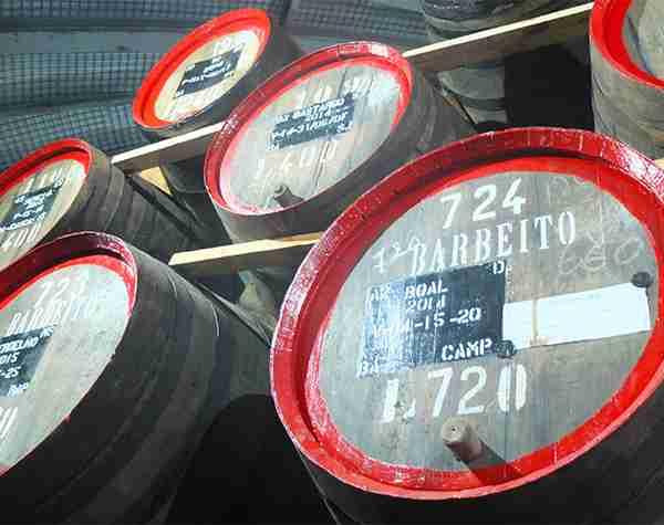 Madeira Barbeito Barrels