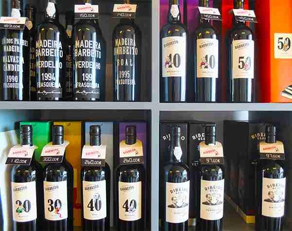 Madeira Barbeito Wines